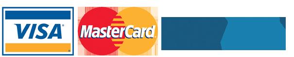 Logos Visa PayPal